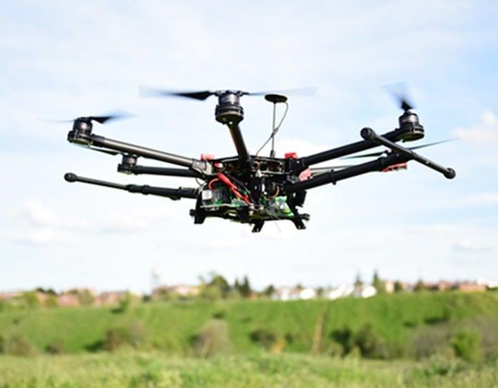 dron ensayos